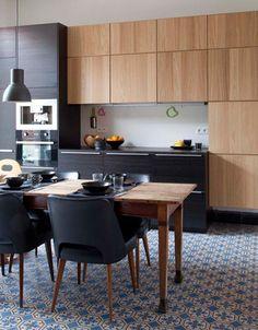 Kitchen ikea modern interior design 25 ideas for 2019 Kitchen Dinning, New Kitchen, Kitchen Decor, Stylish Kitchen, Black Ikea Kitchen, Ikea Metod Kitchen, Cheap Kitchen, Dining Area, Dining Room