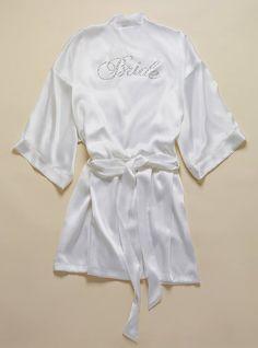 Bride Silk Kimono from Victoria's Secret