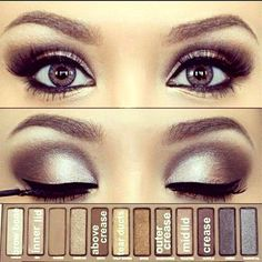 Naked eyeshadow tutorial