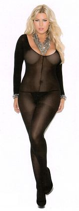 3f4cc2dfe53 Opaque long sleeve black bodystocking makes your body hot. Sexy bodystocking  are crotchless. Beautifull and comfortable fabrics. Model is available also  in ...