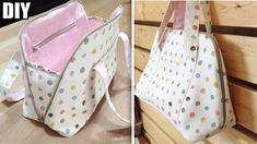 so cute zipper bag design Handbag Tutorial, Coin Purse Tutorial, Diy Handbag, Diy Purse, Pouch Tutorial, Diy Tutorial, Bag Patterns To Sew, Tote Pattern, Sewing Patterns Free