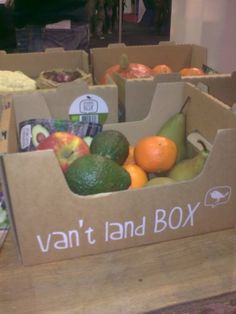Groenten&Fruit krijgen een podium die ze verdienen....