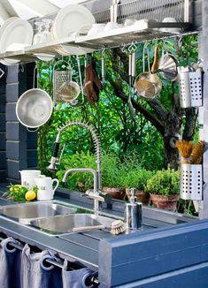 Outdoor Spaces, Pergola, Cottage, Garden, Kitchen, House, Furniture, Bad, Home Decor