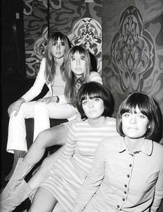 """""""Biba Girls"""" ~ Vogue's Anna Wintour even once worked as a Biba Saturday Girl. ~ From Biba ~ London's Lost Department Store of the Swinging Sixties By Inge Oosterhoff"""