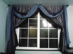 window drapes  #goth #baby #dark
