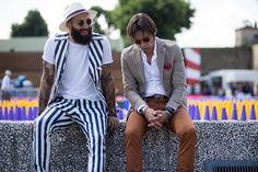 Moda Vestidor : Los Cinco Pares de Pitti Uomo P/V 2016