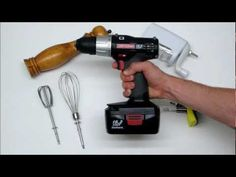 cooking with a power drill