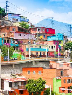 Medellin, Comuna 13 | Le Cocotier Doré//The urban area of Medellín, Colombia is divided into six zones, which in turn are divided into 16 communes.