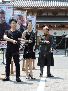 2012年に爆発的な記録を叩き出した、マーベルコミック原作の映画『アベンジャーズ』。   シリーズ最新作が今夏公開されることが発表され、 日本語吹替え版の声優を務めた、名優3名が祈願式に登場しました。