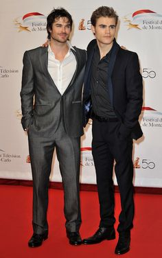 Ian Somerhalder and Paul Wesley how is being THIS sexy possible?!?!?!