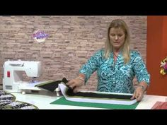 "Carolina Rizzi - Bienvenidas TV - Realiza en patchwork un Pie de cama ""Arco iris"". - YouTube"