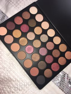 $23 Morphe 35F fall into frost palette https://www.morphebrushes.com/collections/pro-makeup-palettes/products/35f