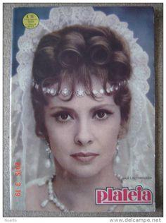GINA LOLLOBRIGIDA SARITA SARA MONTIEL RAY DANTON MICHELE MAHAUT PETER GOLDFARB PORTUGAL MAGAZINE 1963  PLATEIA - Magazines