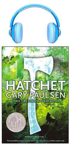 Hatchet by Gary Paulsen - Simon & Schuster Books for Young Readers Best Books For Men, Books For Boys, Good Books, Books To Read, Children's Books, Fiction Books, Amazing Books, Free Books, 2017 Books