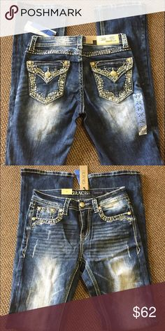 04f47a6d09c Grace in LA Easy Boot Jeans Grace in LA Easy Boot Jeans. Faux button back  pocket- sizes All 34 length Grace in LA Jeans Boot Cut