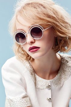 Lily-Rose Depp's CHANEL campaign
