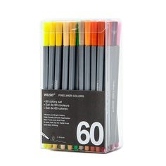 100 Colors Gel Pen Set Soluble In Water Ultra Fine Liner Sketch Drawing Pen School Tools Stationery Stylo Kawaii Stabilo School Tool, Office And School Supplies, Kawaii, Fineliner Pens, Brush Markers, Pencil Writing, Crayon, Gel Pens, Drawing Sketches