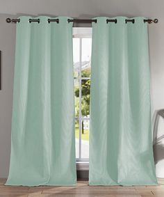 This Blue Mist Montgomery Blackout Curtain Panel - Set of Two is perfect! #zulilyfinds