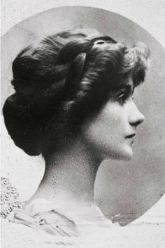 Coco Chanel 1909. Hair braid