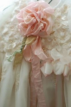Ruffles and Bow Detail