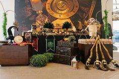 Festa inspirada em Harry Potter tem ambientação cheia de detalhes - UOL Estilo de vida