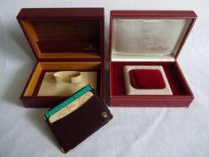 2 ROLEX  WATCH BOXES  + ROLEX CARD HOLDER + FREE SHIPPING  #Rolex