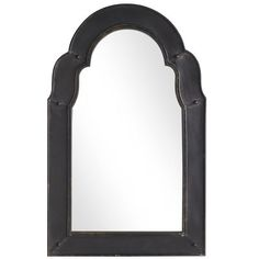 Domed Mirror-- above trunk in entry way- add shelf or hooks under to put keys etc