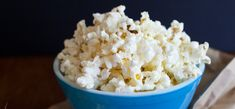 How to make homemade microwave popcorn in two easy steps #snacks