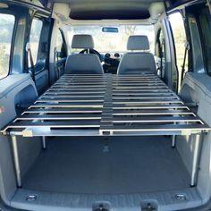 Somier plegable LikeCamper M180 para furgonetas pequeñas y mixta