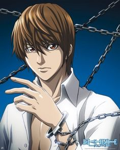 Poster Death Note Light