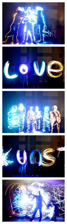 Schilderen met licht - MG
