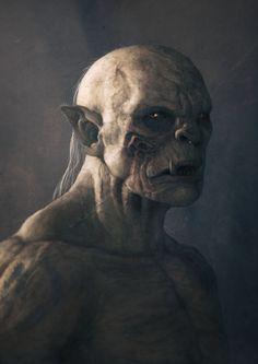 Orc Portrait por JukBoker - Personajes | Dibujando.net                                                                                                                                                                                 Más