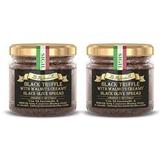 La Rustichella Black Truffle Walnuts Olive Spread 3.2 oz (2 pack) Learn more by visiting the image link.