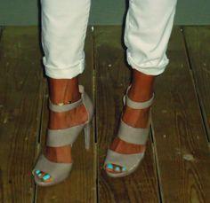 Audrey Brooke Tina Patent Sandal
