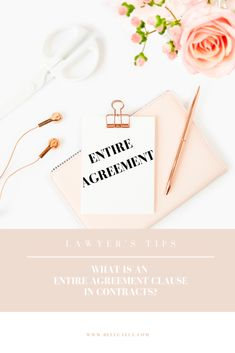 Entire Agreement Clause Business Tips, How To Become, Inspiration, Biblical Inspiration, Inspirational, Inhalation