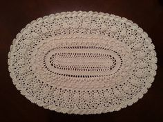 Elegant Oval Doily Part 8 - Final Part