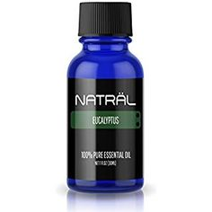 NATRÄL Eucalyptus, Pure and Natural Essential Oil, Large 1 Ounce Bottle Best Smelling Essential Oils, Grapefruit Essential Oil, Pure Essential Oils, Oil Diffuser, Aromatherapy, Essentials, Personal Care, Pure Products, 100 Pure
