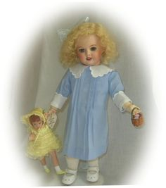 DAISY doll outfit by Dress-a-Doll, from LHJ 1911