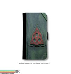 Book of Shadows Leather Wallet Phone Case for iPhone 6, 6s and 6+ and 6+s,