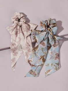 2pcs Floral Pattern Scrunchie Scarf | SHEIN South Africa Scarf Hairstyles, Scrunchies, Free Gifts, Headbands, Hair Accessories, Boho, Floral, Warehouses, Pattern