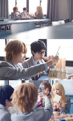 GoBoiano - Relive the Entire Your Lie in April Anime Through This Cosplay Set