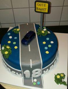 Auto Torte Reifentorte Himbeer Mascarpone Car Cake Auto