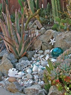 dreamy beach themed garden decor ideas 2 gardenoholic