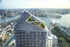 3XN recebe aprovação pra construir torre de 200 metros em Sydney,Courtesy of 3XN