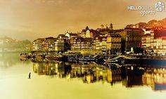 Magnífico postal da cidade do Porto.