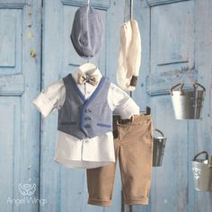 Lovely handmade items for your little treasures ️ by Byhandtoheart Boy Christening, Boy Outfits, Handmade Items, Trending Outfits, Coat, Jackets, Bb, Horse, Fashion