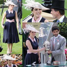 Princess Eugenie at day 3 of Royal Ascot! .