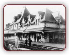 McAdam train station