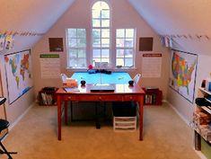 Kid organization tips from homeschool classrooms