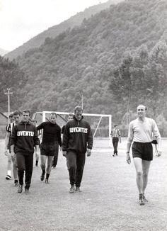 Ritiro estivo del 1961 a Villar Perosa.